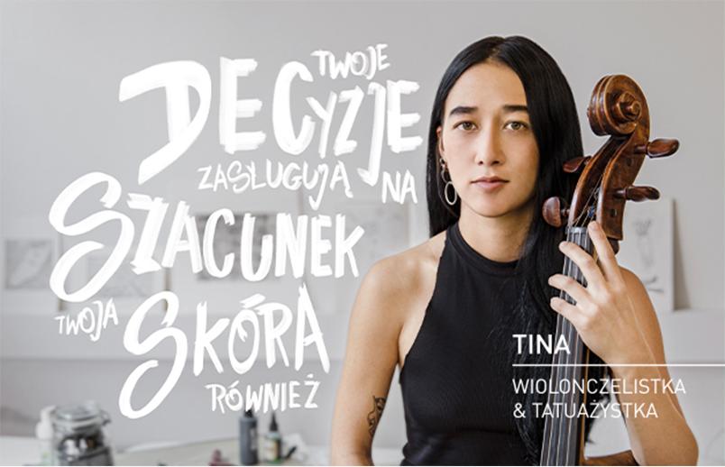 Tina - wiolonczelistka i tatuażystka