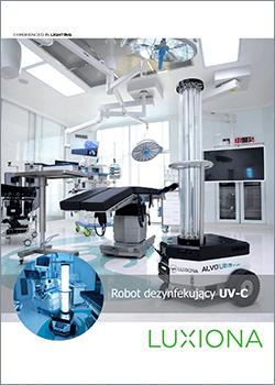 Ksiazka Robot dezynfekujacy UV-C