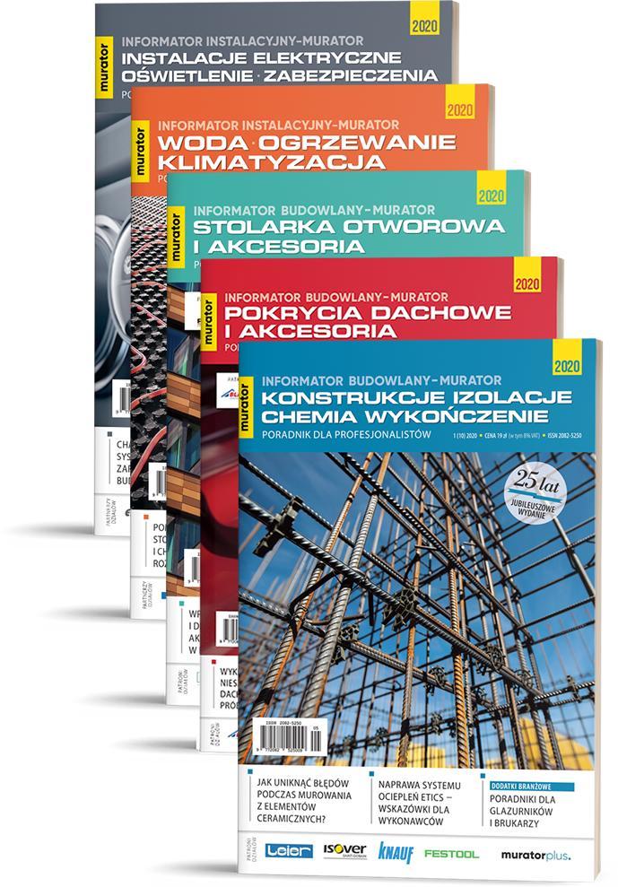 Informatory Budowlane + Informatory Instalacyjne 2020
