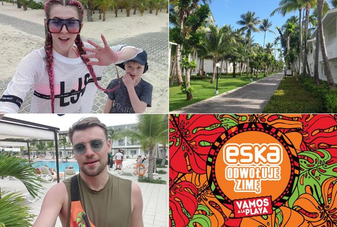 Słońce, zabawa, energia i gwiazdy! Gwiazdy opowiadają o tym, co dzieje się na Dominikanie!