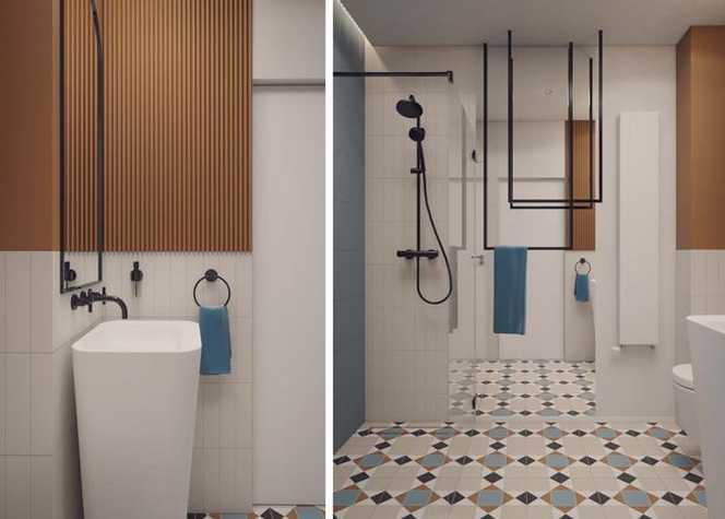 Lekkość eklektyzmu – łazienka w wersji trzeciej