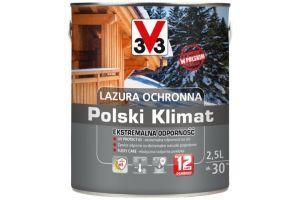Lazura Ochronna Polski Klimat Ekstremalna Odporność zdjęcie